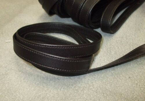 120 x 1,4 braun Taschenriemen Lederriemen Riemen Echt Kalb Leder 2,5 mm genäht