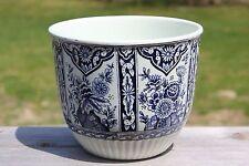 Boch for Royal Sphinx Blue White Planter Pot Delft Holland Regout Maastricht M16