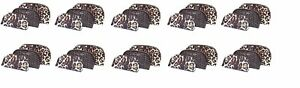 Makeup Set Logo Leopard Cosmetic Vs Secret Trio Victoria's X Brand Of 10 New Bag 8nwmNvO0y