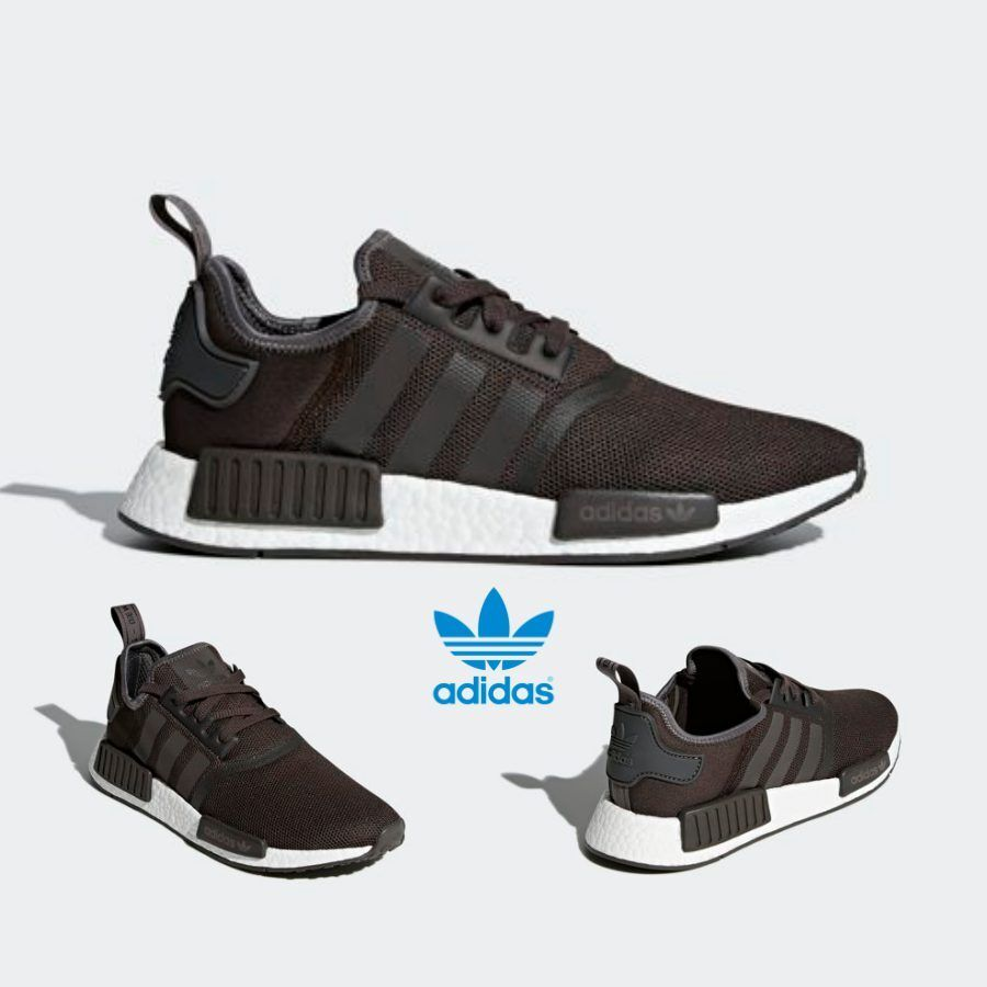 Details about Adidas Original NMD R1 Runner Shoes Running Trace Grey Metallic CQ2412 SZ 4 11
