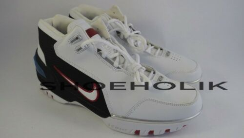 Nueva Zoom Azg 10 Blanco 5 Sz marca Nike 2003 Og 308214 Lebron1 Air 111 Generation qwxaCfqrn