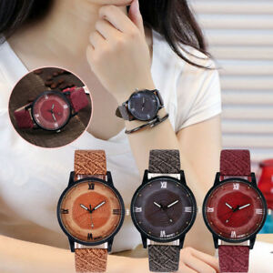 Women-Casual-Faux-Leather-Watch-Ladies-Stainless-Steel-Dial-Analog-Wrist-Watches