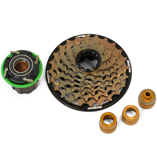 Hope Downhill DH Cassette 7 Speed w  Pro 4 Freehub Body Conversion Kits New