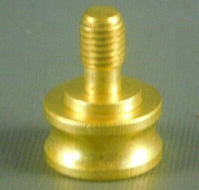 New Solid Unfinished Brass Classical Ball Shape Lamp Finial 3//4/'/'  #BN98
