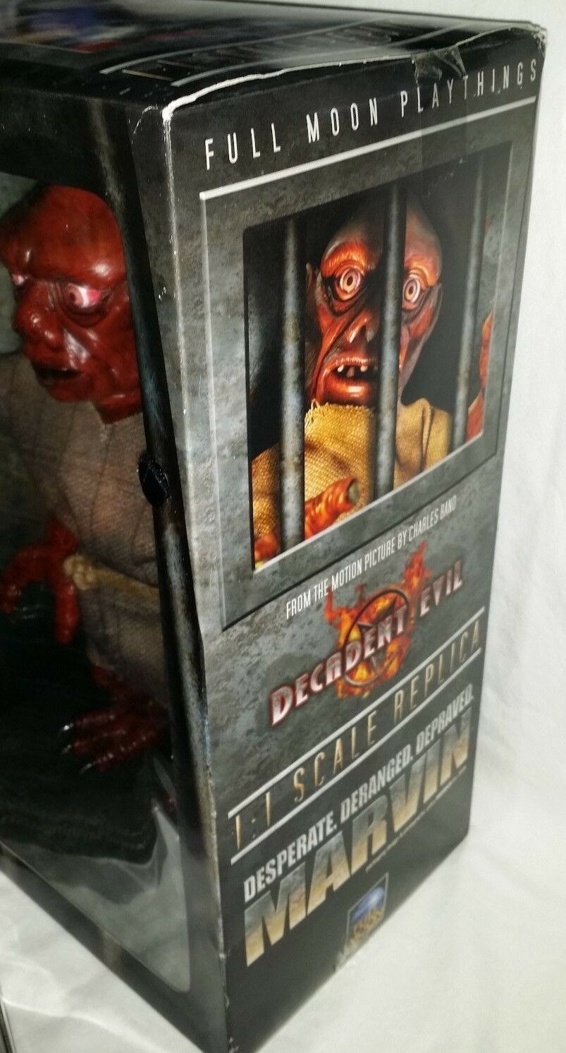 MIB Full Moon Plaything Decadent Evil MARVIN MARVIN MARVIN 1 1 Scale Replica Horror Movie bambola eb7c5c