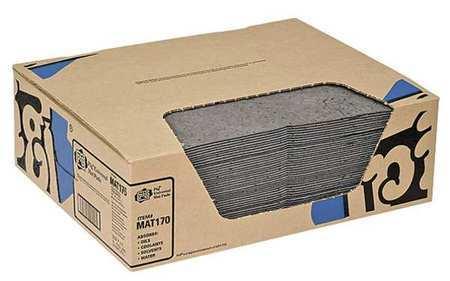 Absorbent Mat Pad,11 gal.,PK50 NEW PIG MAT170