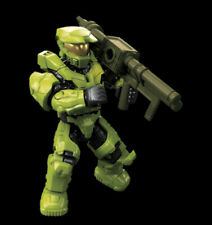 2020 HALO MEGA CONSTRUX BLOKS LIME GREEN SPARTAN MARK-V FIGURE CLASH ON THE RING