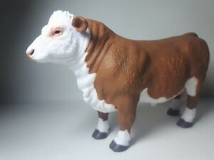 Details about 2019 NEW Collecta Animal Toy / Figure Hereford Bull - Polled
