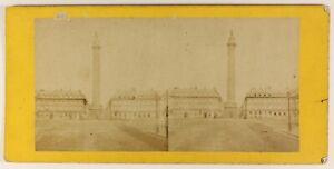 Place-Vendome-Parigi-Francia-Foto-Stereo-PL55L5n-Vintage-Albumina