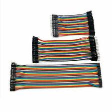 40p Dupont Cables 10 40 M F M M F F Color Jumper Breadboard Wire Gpio Pi Arduino