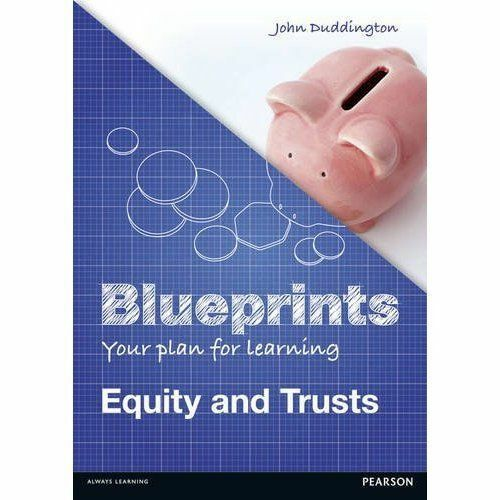 1 of 1 - Equity & Trusts: Uk Edition (Blueprints)-ExLibrary