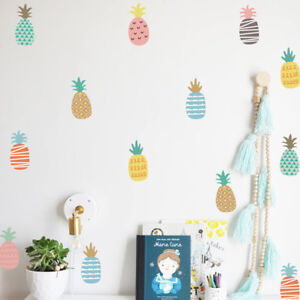 Pineapple-Wall-Stickers-Vinyl-Art-Removable-Home-Kids-Room-Decals-Decor-Mural-US