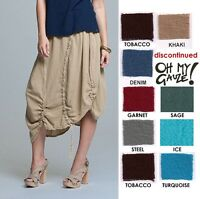 OH MY GAUZE Cotton Artsy PULLY Panel Skirt 1 (M/L/XL) 2 (1X/2X)  2014 DISC STYLE
