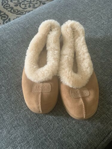 Womens Brown Ugg Slippers Size 11