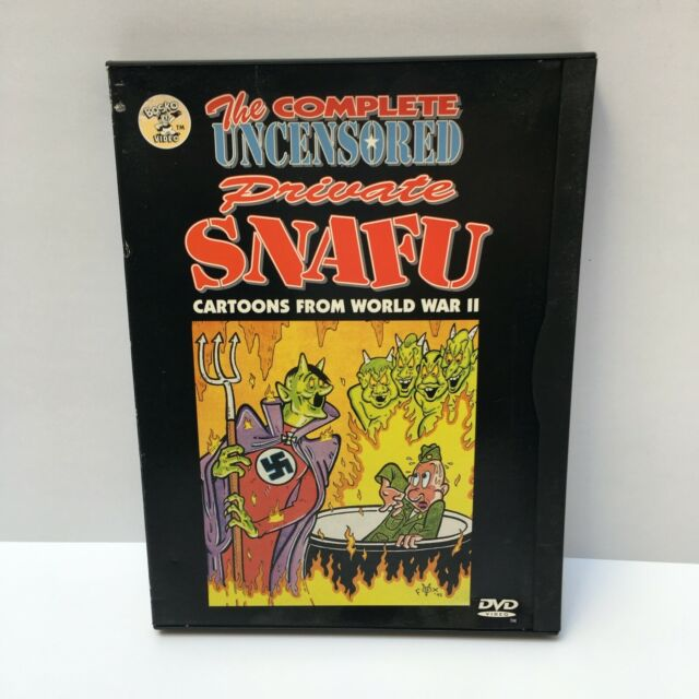 The Complete Uncensored Private Snafu WWII Cartoons DVD