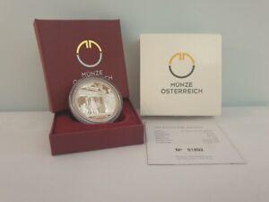 Coffret BE 20 Euros Argent Ag 900 Autriche 2011 - Carnuntum