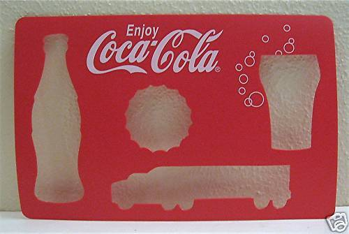 5 Coca Cola Bottle Glass Truck Bottle Cap Coke Stencil