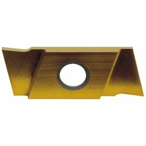 Nikcole GIE-7-GP-1.0 Carbide Groove /& Cut-off Insert Grade C5-PV-RH//Rgt Pack//2