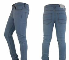 Mens Skinny Jeans Slim Fit Denim Super Stretch Regular Short Long All sizes