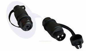 Traktor Stecker DIN 9680, 3-Pol Stecker für Verbraucher mit hoher Strombelastung