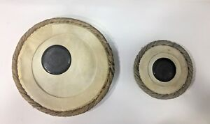 Details about New Tabla Skin, Pudi, Bayan Dayan Head Set of Professional  Concert Good Quality