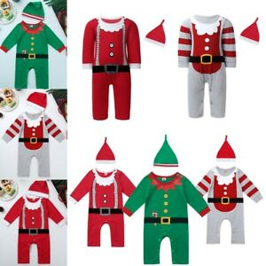 Newborn-Baby-Boys-Girls-Romper-Christmas-Costumes-Bodysuit-Jumpsuit-Outfits-Set