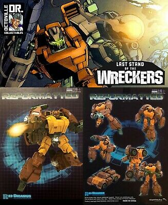 NEW IN STOCK Transformers MMC R-23 Dicamus Roadbuster Action Figure