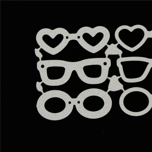 Beach sunglasses Metal Cutting Dies Stencil for DIY Scrapbooking Album Card SU