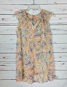 Cabi-Women-039-s-XS-Extra-Small-Ruffle-Sleeveless-Summer-Cute-Tunic-Top-Blouse-89