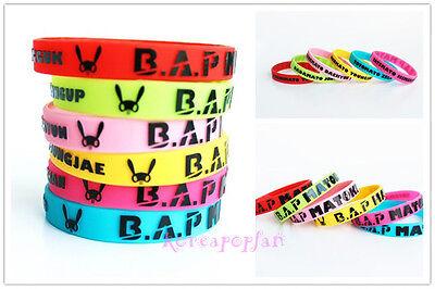6PC B.A.P BAP MATOKI ZELO MEMBER YONGGUK KPOP wristband BRACELET X6 NEW