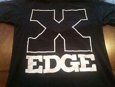 Women's STRAIGHT EDGE Punk Rock The Movie Band T-Shirt (Medium)