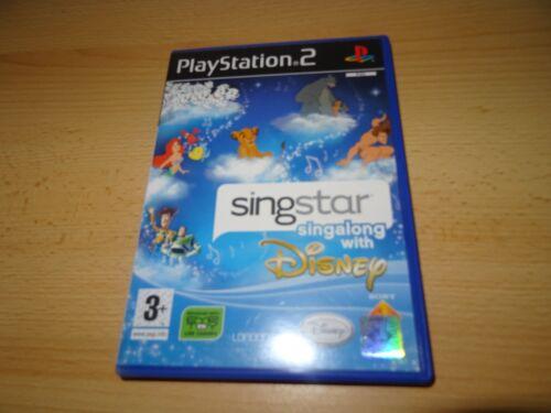 1 of 1 - SINGSTAR  DISNEY  NEW  NOT SEALED PS2 playstation 2 uk pal version