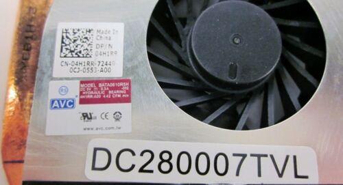 Dell Latitude E6410 E6510 CPU Fan 4H1RR /& Heatsink 0KTPRC GENUINE OEM NEW