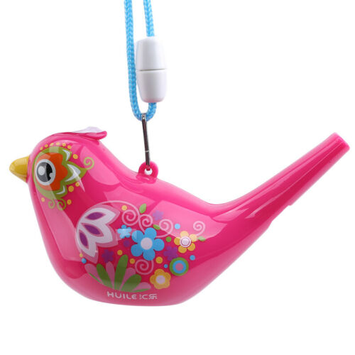 Kids Music Educational Colorful Bird Whistle Bathing Toy Safe Non-Toxic Gift Z