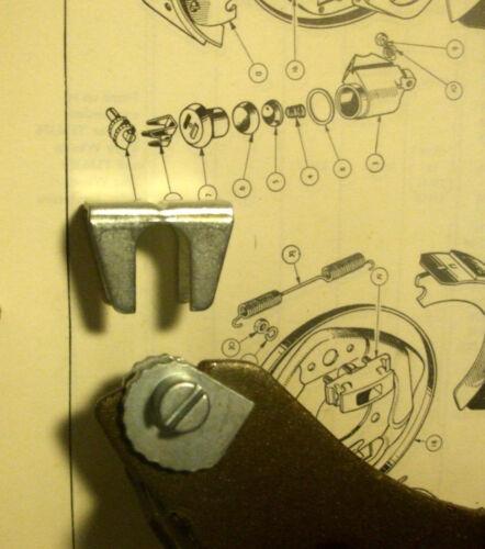 x1 /& masque Wolseley 4//44 avant ou arrière Frein Ajusteur micram escargot Cam 53-56