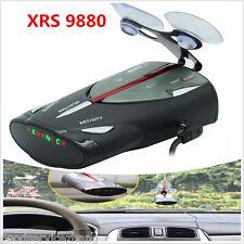 NEW 16-Band Radar Detector XRS 9880 Laser Anti Radar Detectors 360 Led display
