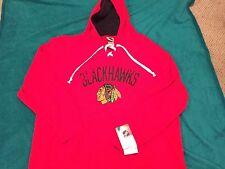 Chicago Blackhawks Sweatshirt Hoodie Licensed New NHL Tags Hockey Medium XL