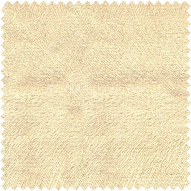 Plain Textured Off White Colour Soft Matt Velvet Upholstery Curtains Fabric