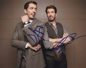 Image Is Loading Drew Amp Jonathan Silver Scott Signed Autograph 8x10