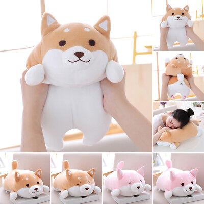 Kawaii Plush Stuffed Doge Toy Puppy Doll With Scarf Shiba Inu Dog Soft Cute Ebay
