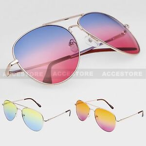 Sunglasses Men Aviator Unisex Lens Shades Color Details About Large Women New Outdoor Two O0w8Pnk