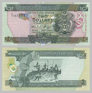 2019 Neuer Stil Salomonen / Solomon Islands 2 Dollars P25b Unz.