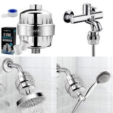 2 Water-Softener Replaceable Multi-Stage Cartridges Universal Shower Head Water Filter Works Best to Remove Chlorine and Hard Water with any Showerhead Chrome