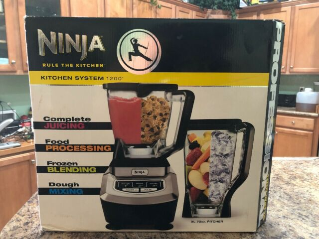 Ninja Kitchen System 1200 Blender Food Processor Juicer KS1200 IN BOX