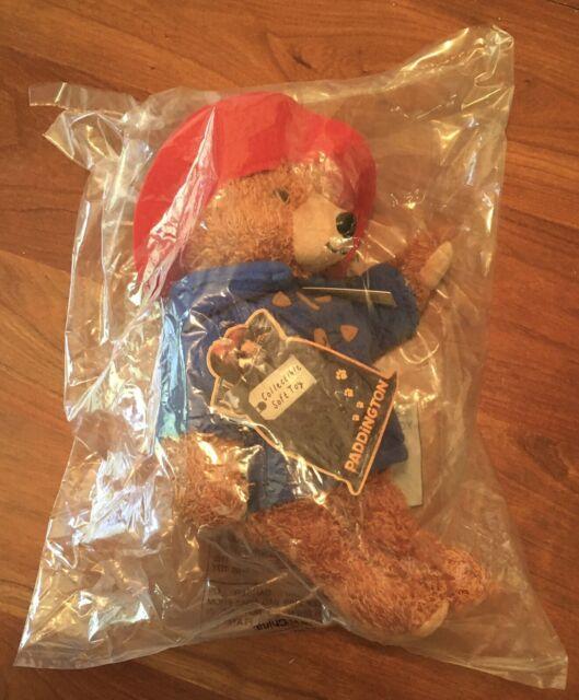 "Sealed 2014 YOTTOY #638 Big Screen Paddington Bear Soft Toy 11"" W/Tags"