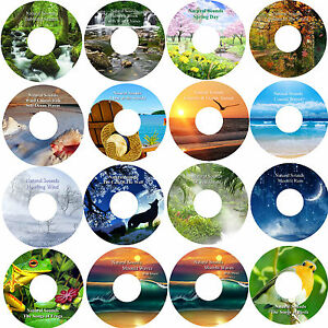 Healing-Nature-16-CD-Relaxation-Collection-Deep-Sleep-Stress-amp-Anxiety-Relief
