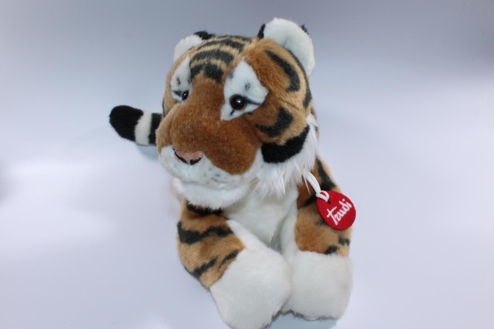 PELUCHE TRUDI TIGRE TIGER PLUSH CM 50 FUORI PRODUZIONE ANIMALE DA COLLEZIONE PER
