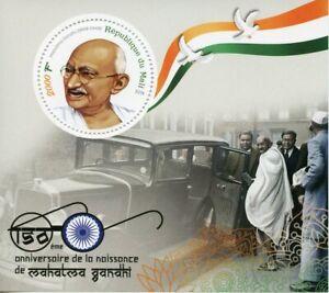 Mali-2019-MNH-Mahatma-Gandhi-150th-Birth-Anniv-1v-M-S-Famous-People-Stamps