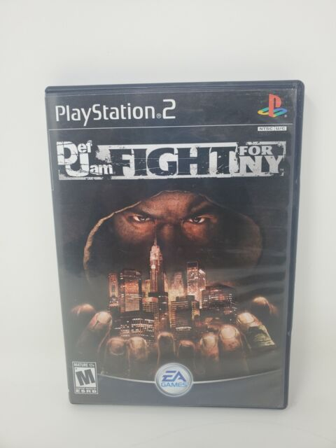 Def Jam Fight For NY Sony PlayStation 2 PS2 Black Label Complete With Manual