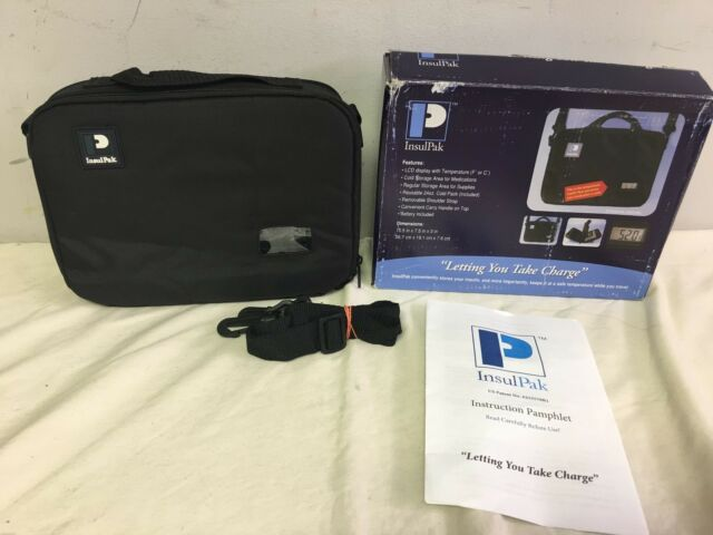 Insulpak Insulated Medication Travel Bag With Electronic Temp Display